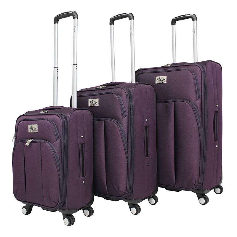Chariot Marsala 3-Piece Spinner Luggage