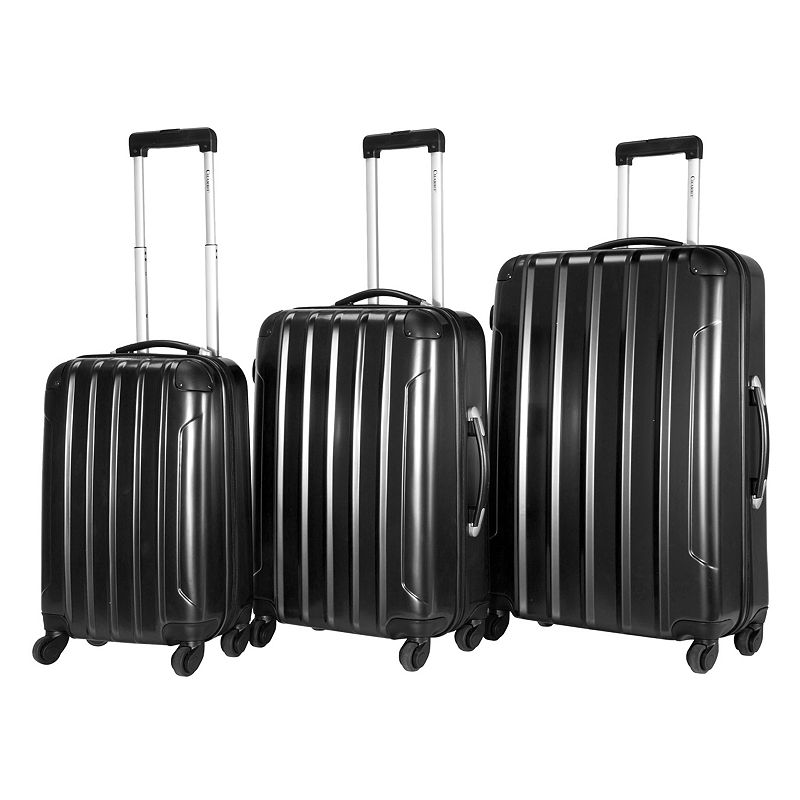 Chariot Vercelli 3-Piece Hardside Spinner Luggage
