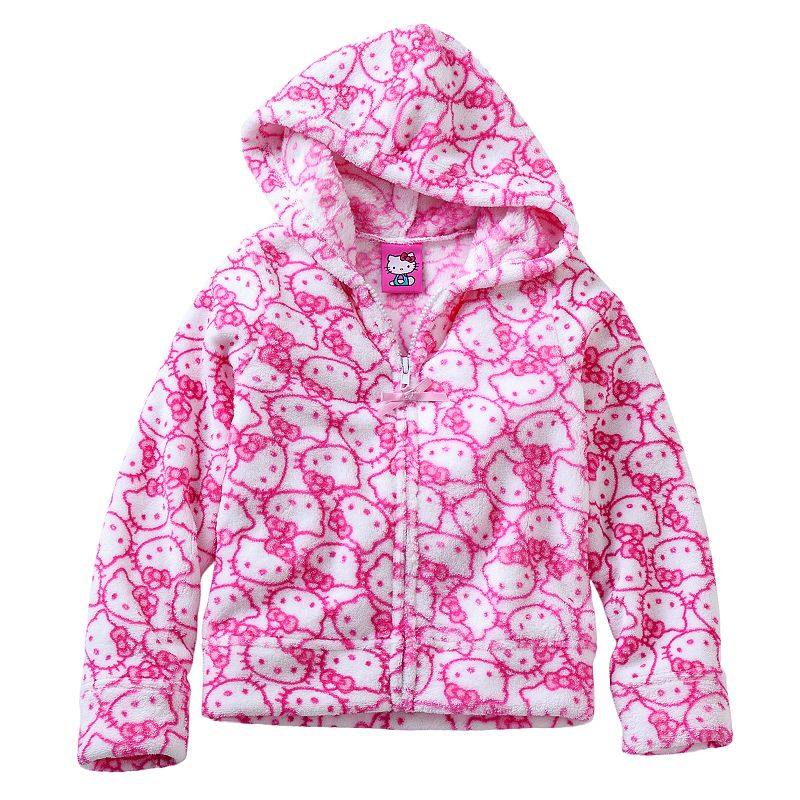 Girls 4-6x Hello Kitty® Fleece Hoodie