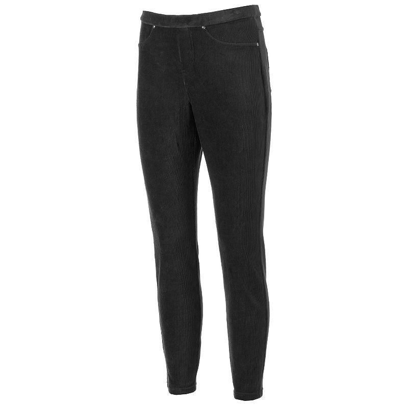 Women's Croft & Barrow® Comfort Waist Pull-On Corduroy Pants