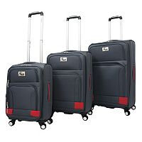 Chariot Genoa 3-Piece Spinner Luggage