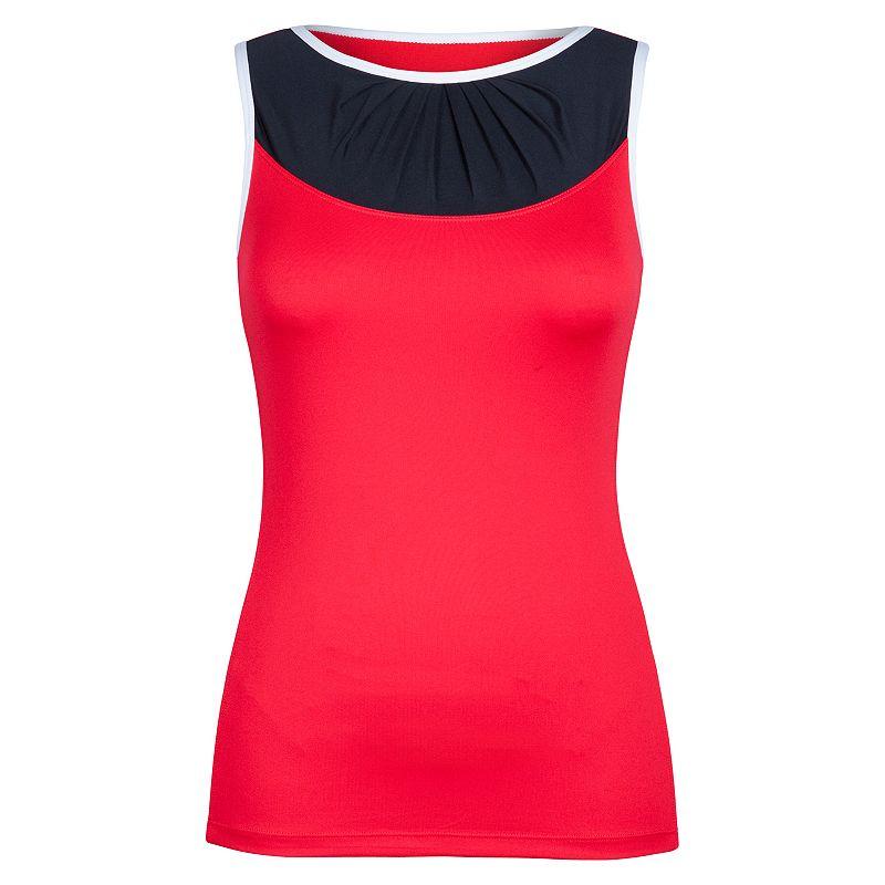 Women's Tail Rocia Pleated Tennis Tank