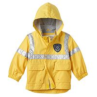 Toddler Boy Carter's Reflective Police Rain Jacket