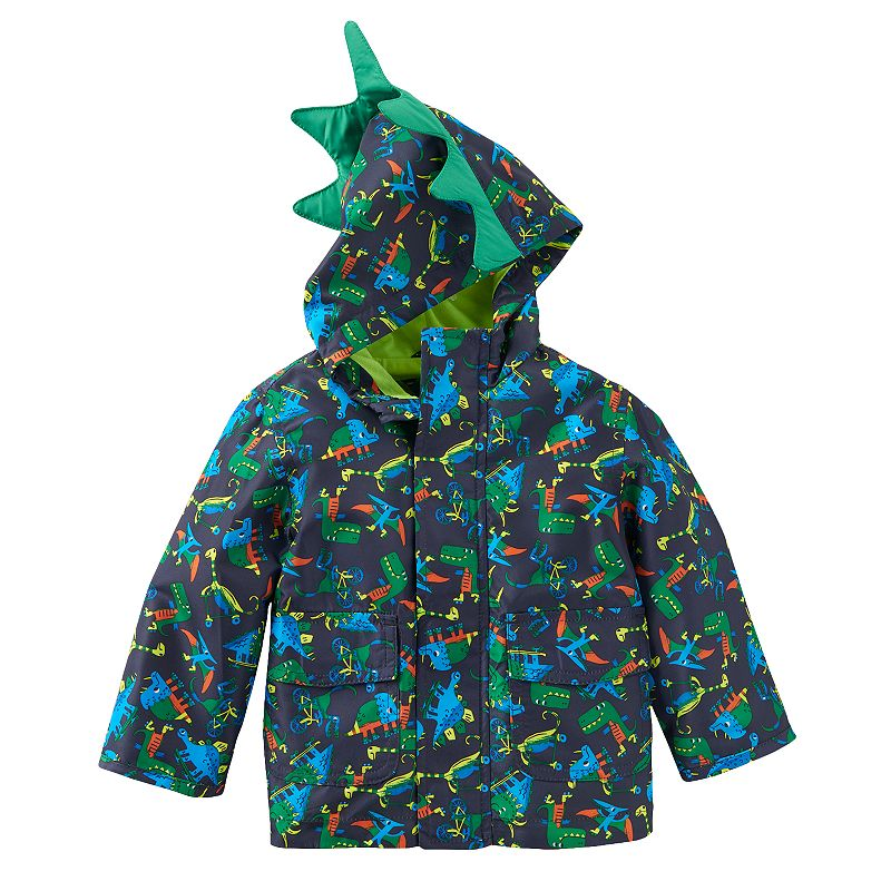 Toddler Boy Towne by London Fog Lightweight Dinosaur Jacket