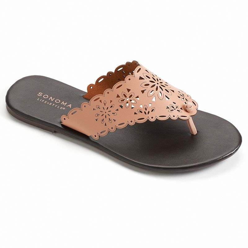SONOMA Goods for Life™ Women's Cutout Thong Sandals