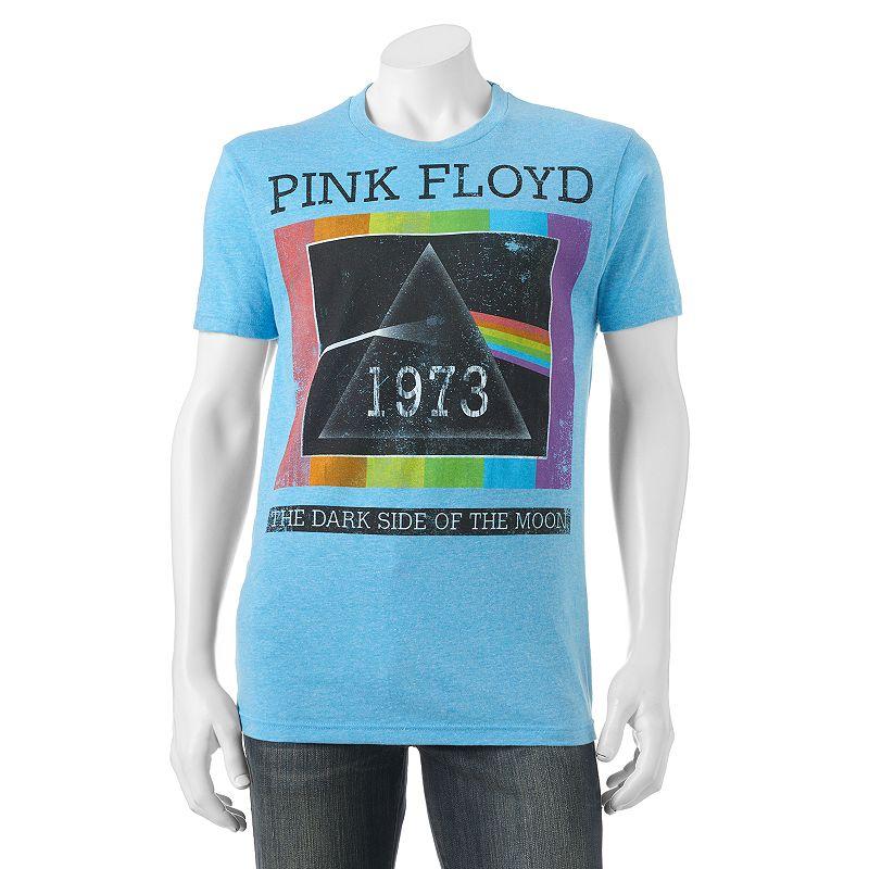 Kohls Men's Pink Floyd the Dark Side Of Moon 1973 Tshirt Blue T Shirt | Shirts, Tops and Clothing