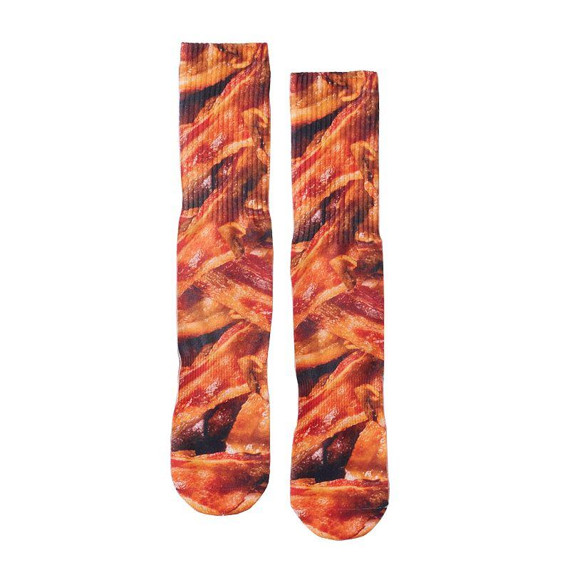 Men's Urban Pipeline® Bacon Sublimated Crew Socks