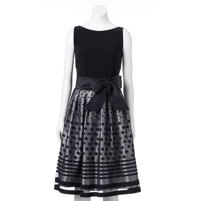 Women's Expo Velvet Fit & Flare Dress