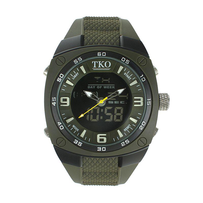 TKO Orlogi Men's Analog-Digital Chronograph Watch