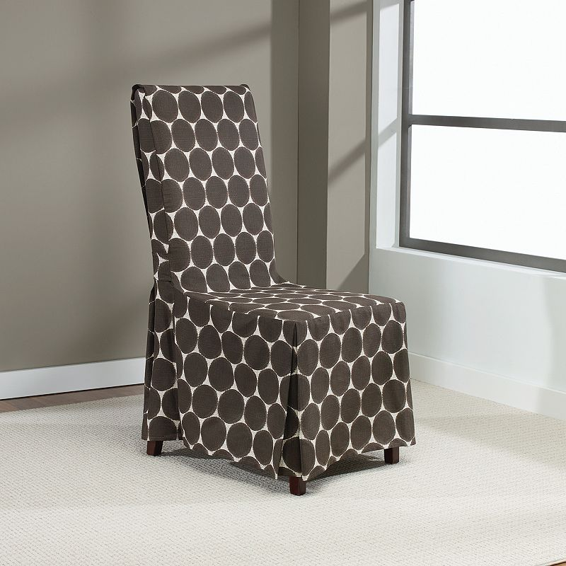 Sure Fit Ikat Skirted Dining Chair Slipcover