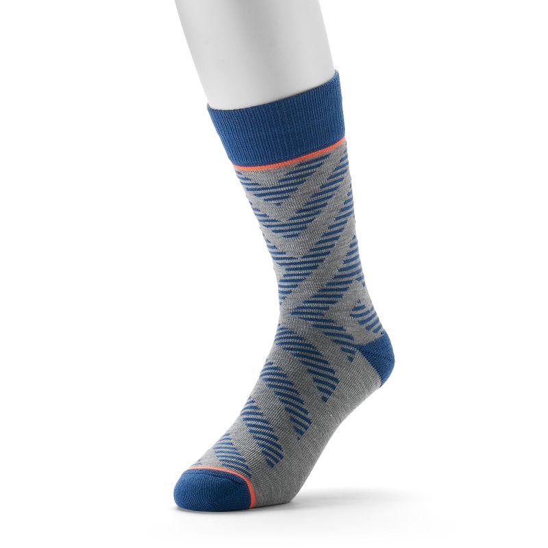Men's adidas adidas NEO Angle-Striped Crew Socks