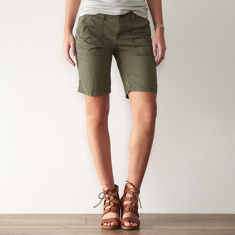 Women's SONOMA Goods for Life™ Anytime Bermuda Shorts