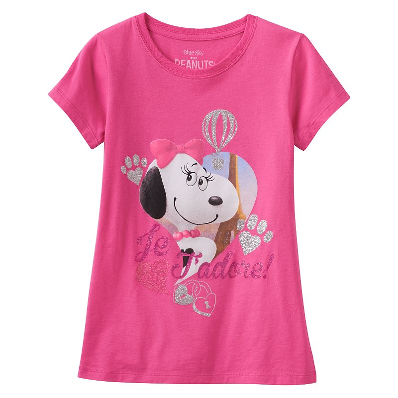 Girls 7-16 Peanuts Belle Graphic T-Shirt
