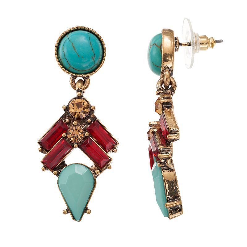 LOLI BIJOUX Mili Drop Earrings