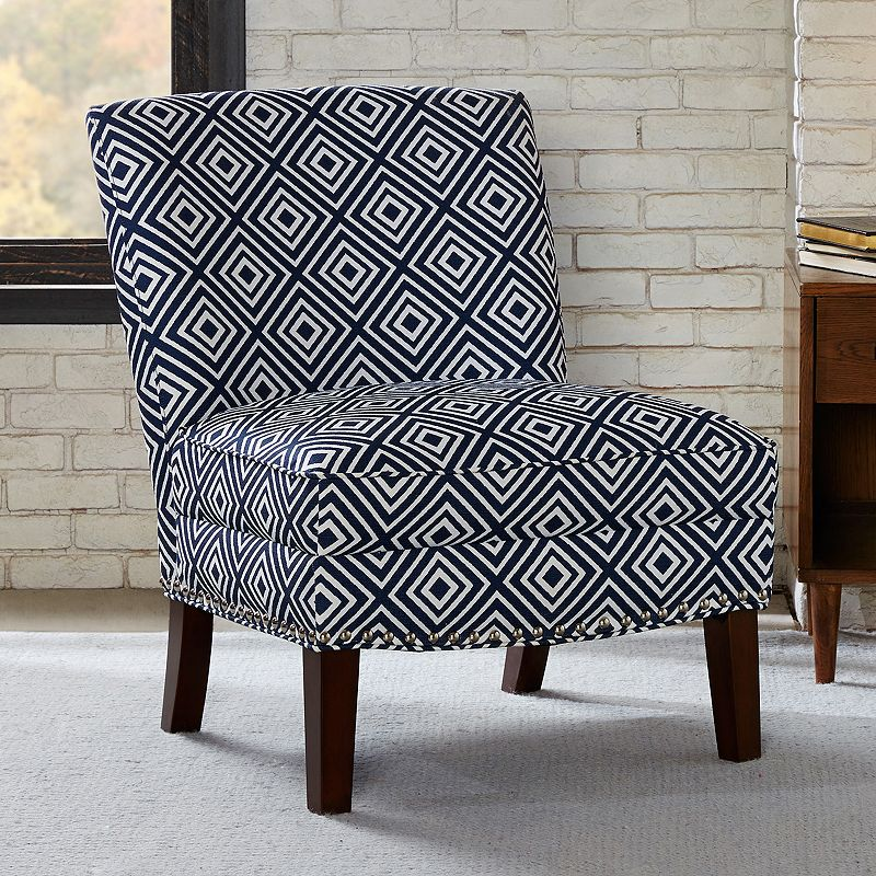 madison park hayden geometric accent chair dealtrend