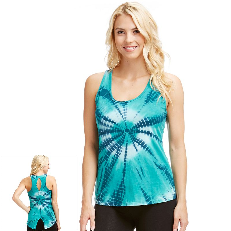 Women's Balance Collection Tie-Dye Racerback Yoga Tank
