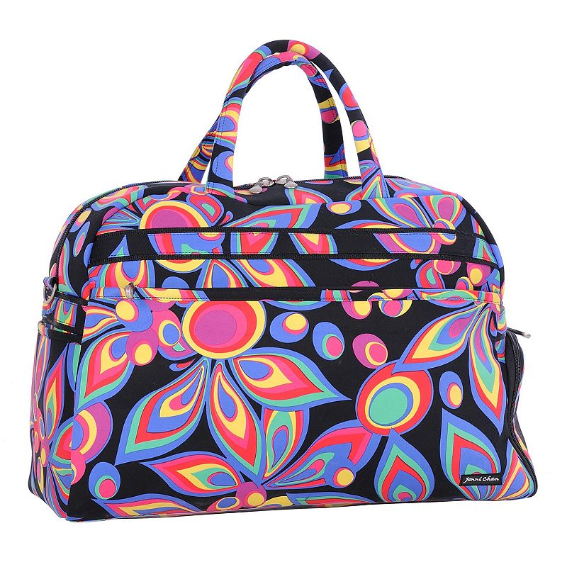 Jenni Chan Wild Flower Gym Duffel Bag