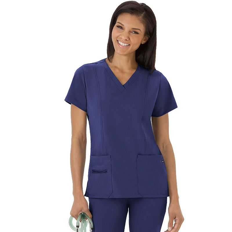 Plus Size Jockey Scrubs Modern Fit V-Neck Top