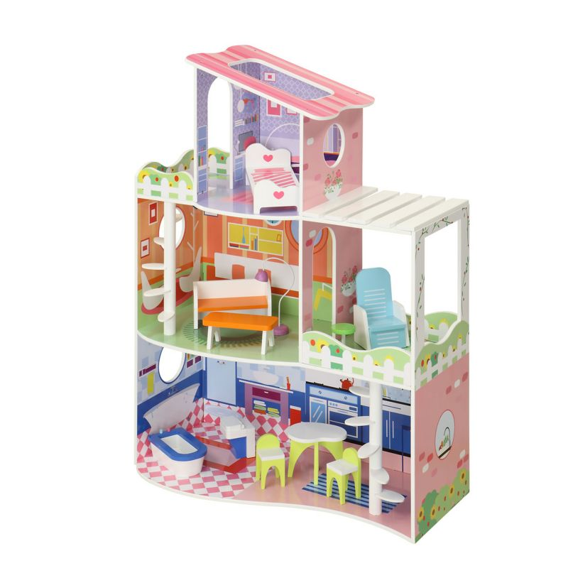 Maxim Garden Dollhouse, Multicolor