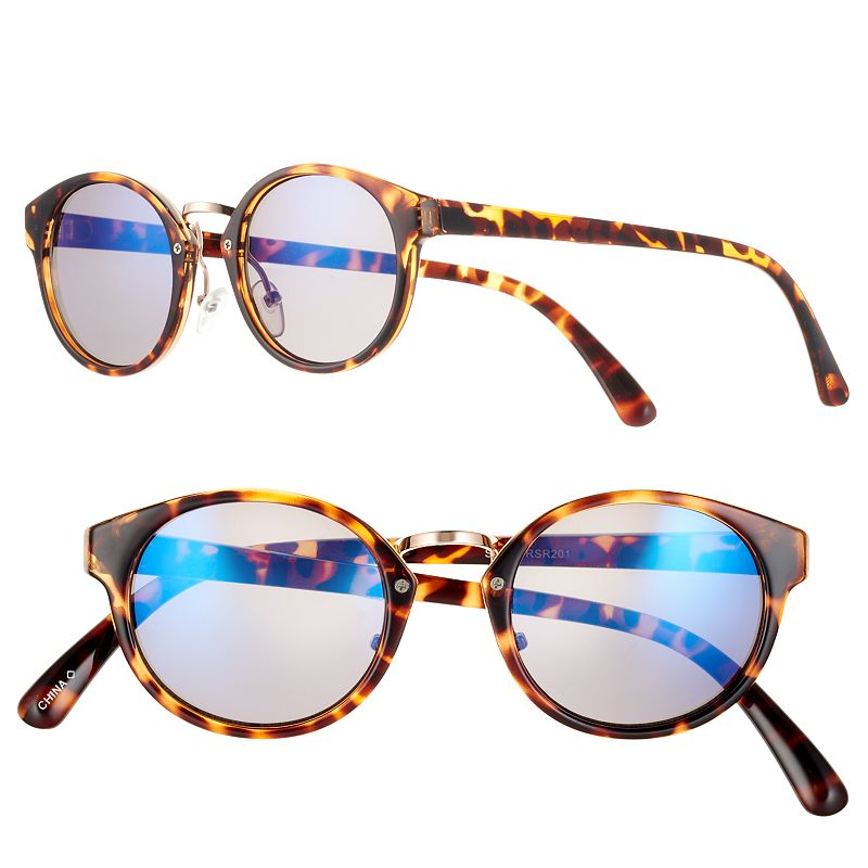 Women's SONOMA Goods for Life™ Tortoise Round Sunglasses