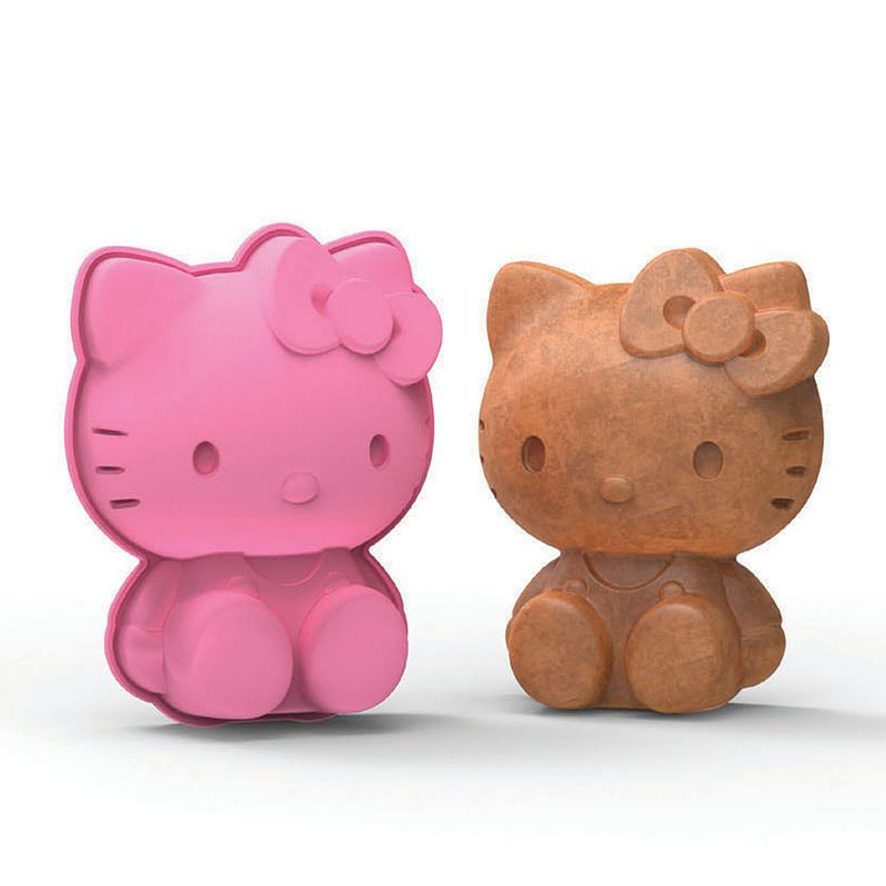 Siliconezone Hello Kitty® Nonstick Silicone Mini Cake Pan