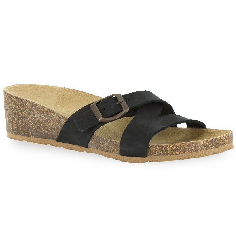 Tuscany by Easy Street Sandalo Women's Wedge Slide Sandals