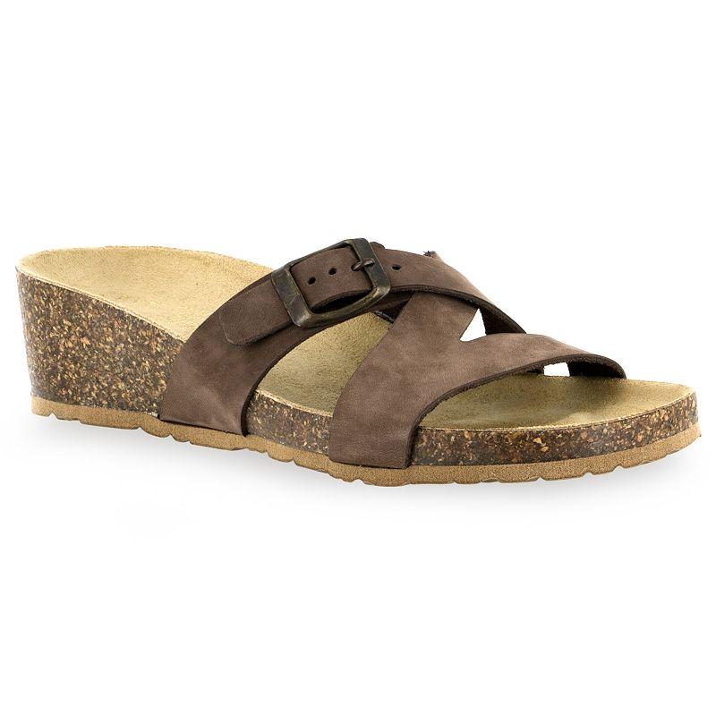 Tuscany by Easy Street Sandalo Women's Wedge Slide Sandals