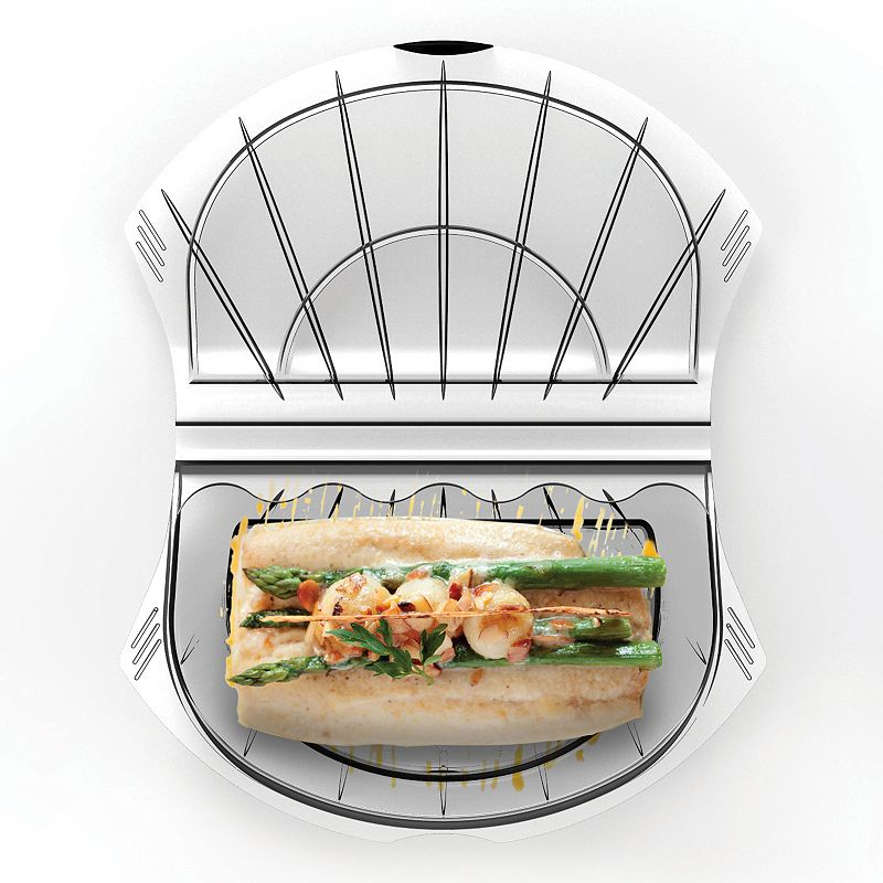 Siliconezone MeShell Large Silicone Food Steamer