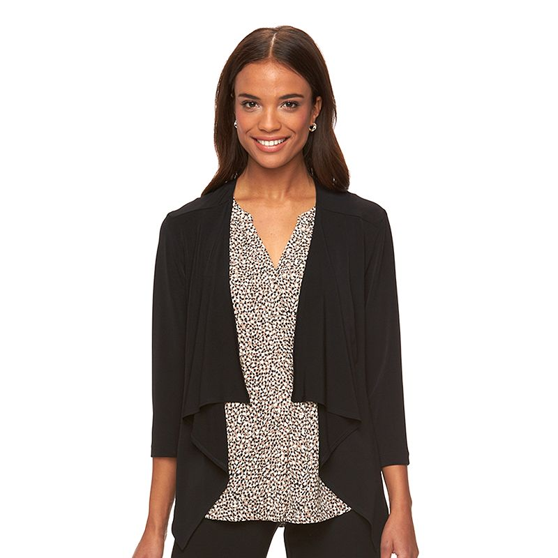 Women's Connected Apparel Draped Shrug