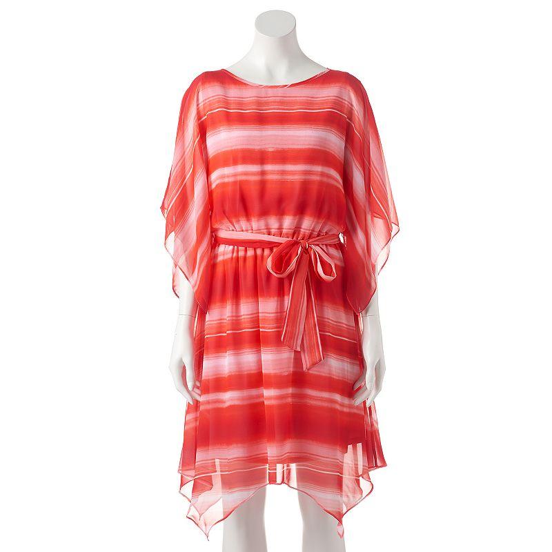 Women's AB Studio Striped Kimono Dress