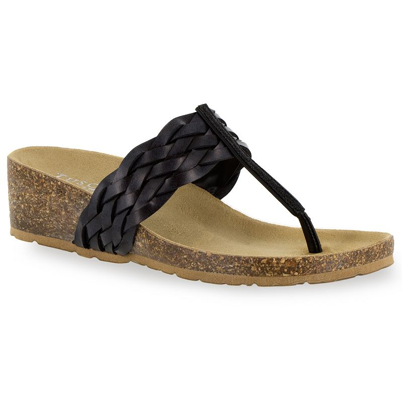 Tuscany by Easy Street Bene Women's Wedge Sandals