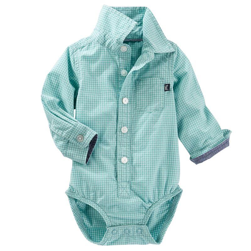 Baby Boy OshKosh B'gosh® Gingham Bodysuit