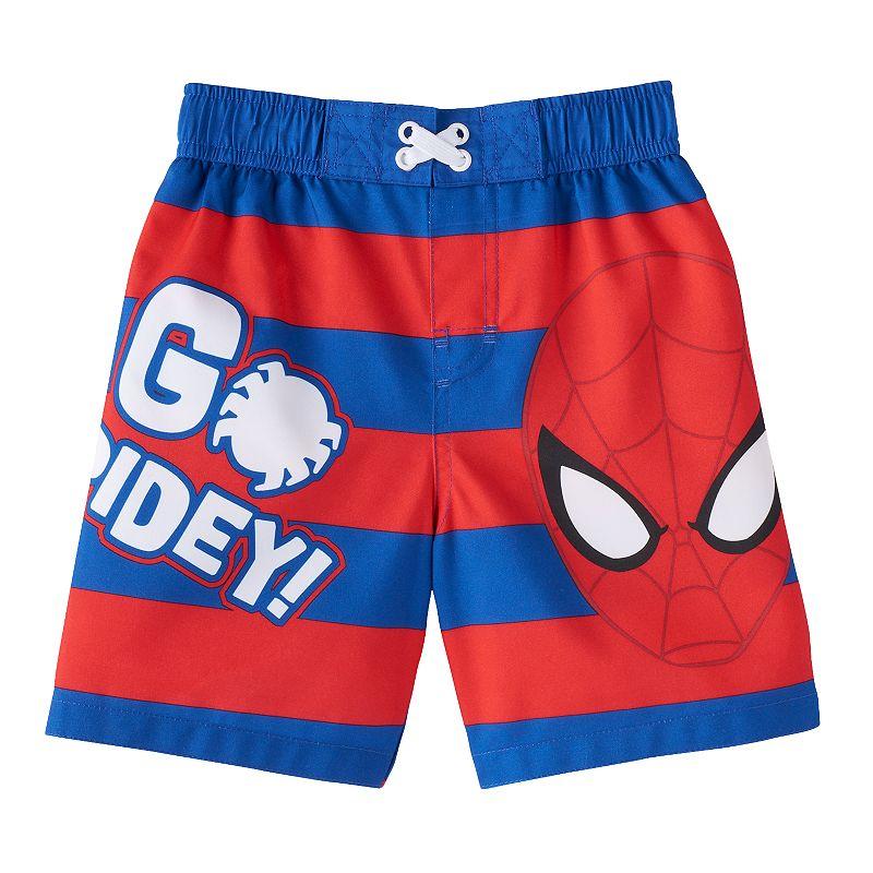 Baby Boy Marvel Spider-Man Swim Trunks