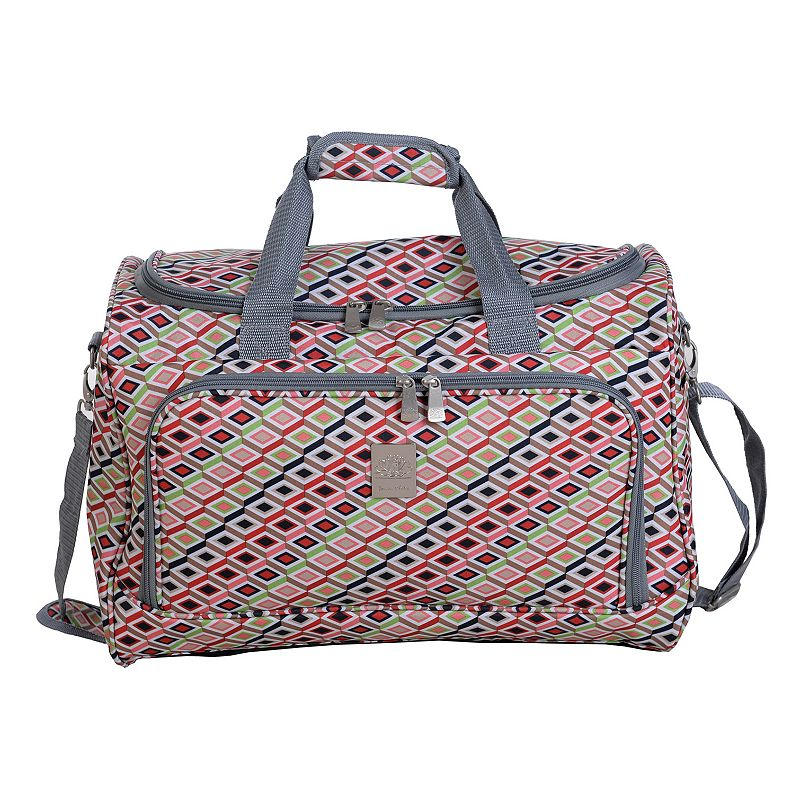 Jenni Chan Tiles City Duffel Bag