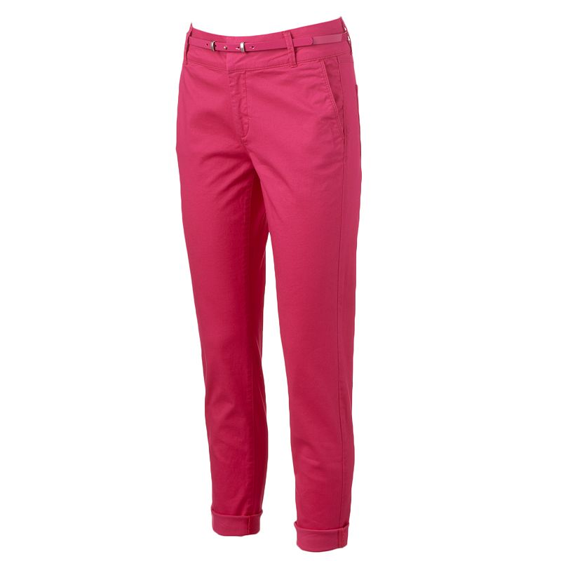 Women's ELLE™ Cuffed Skinny Pants