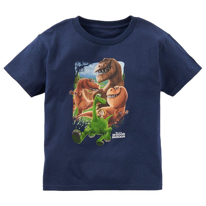 Disney / Pixar The Good Dinosaur Toddler Boy Navy Blue Tee
