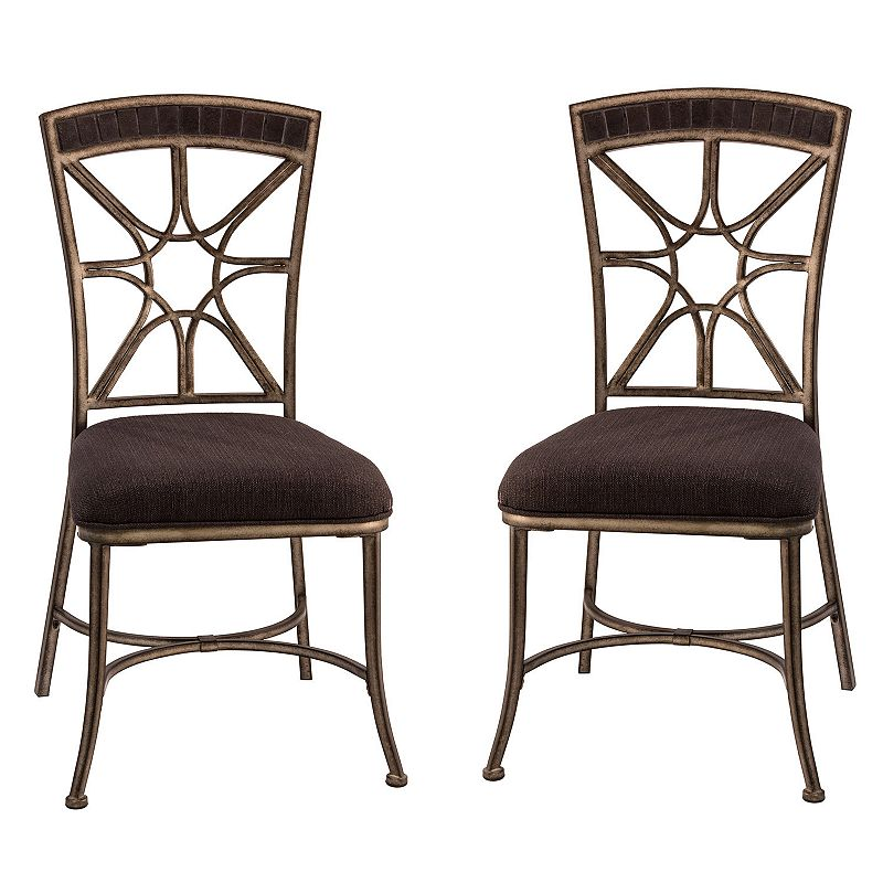 Hillsdale Furniture Embassy Dining Chair 2-piece Set