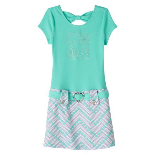 Girls 7-16 lilt ''Cool'' Jeweled Dress