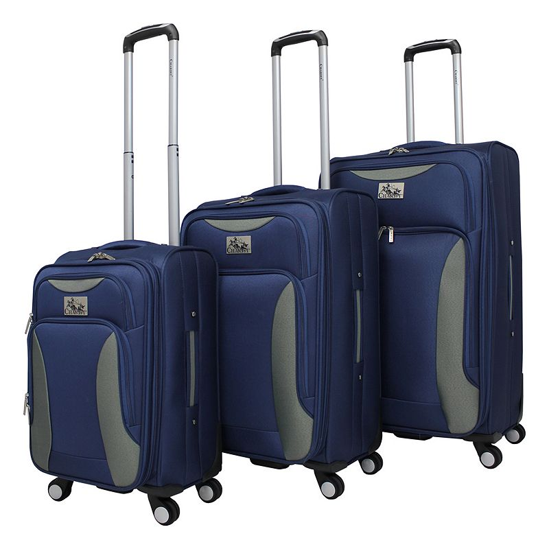Chariot Bari 3-Piece Spinner Luggage