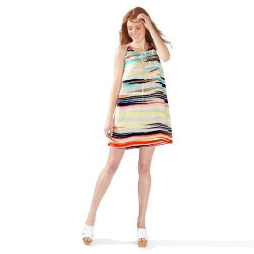 Juniors' Speechless Striped Shift Dress