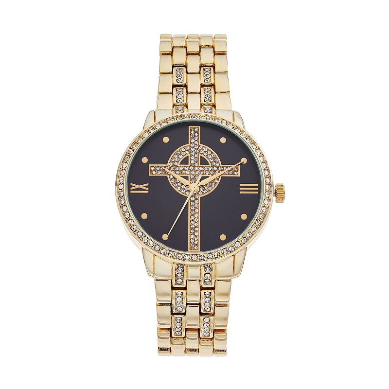 Women's Celtic Cross Crystal Watch