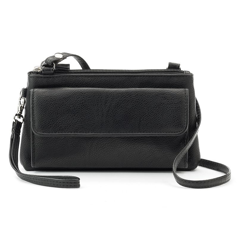 Croft & Barrow® Chelsea RFID-Blocking Mini Crossbody Bag