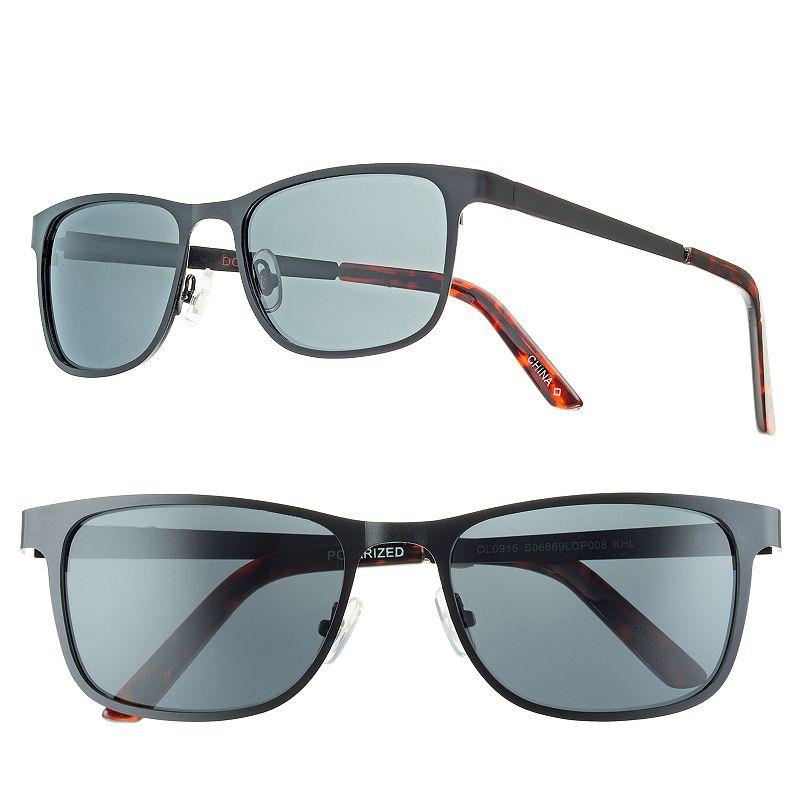 Men's Dockers Polarized Metal Sunglasses