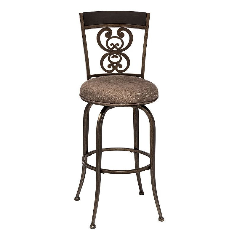 Hillsdale Furniture Andorra Swivel Counter Stool