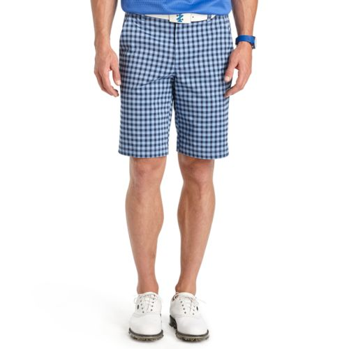 Men's IZOD Classic-Fit Gingham-Plaid Performance Golf Shorts