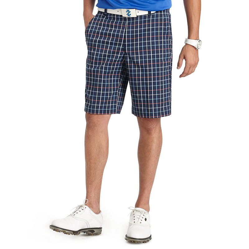 Men's IZOD Ponte Vedra Classic-Fit Plaid Performance Golf Shorts