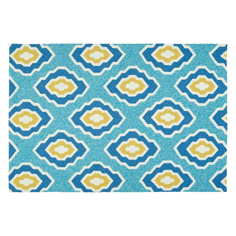 Kaleen Escape Geometric Indoor Outdoor Accent Rug 4x6