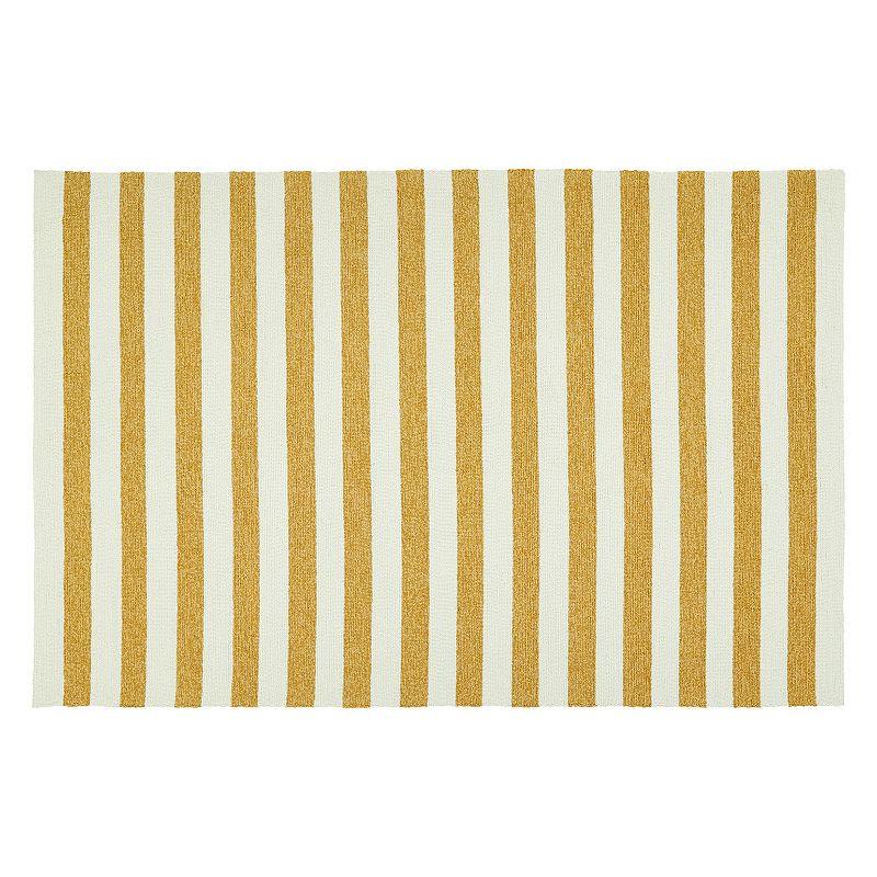 Kaleen Escape Stripes Indoor Outdoor Rug