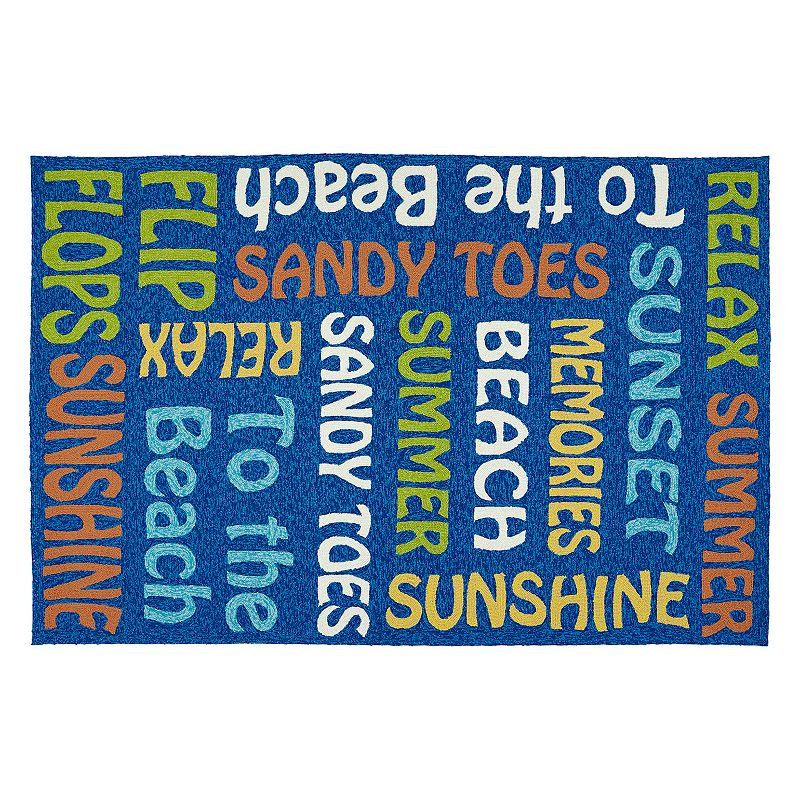 Kaleen Escape Summer Indoor Outdoor Rug