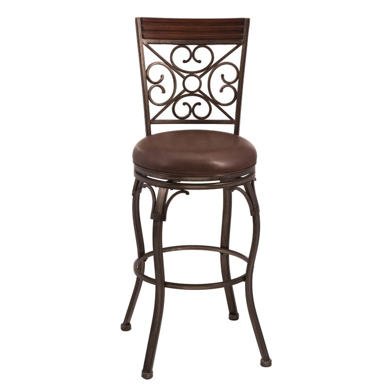 Furniture of America Roden 3025quot Swivel Bar Stool in  : 2412438wid800amphei800ampopsharpen1 from www.dealtrend.com size 882 x 882 jpeg 39kB